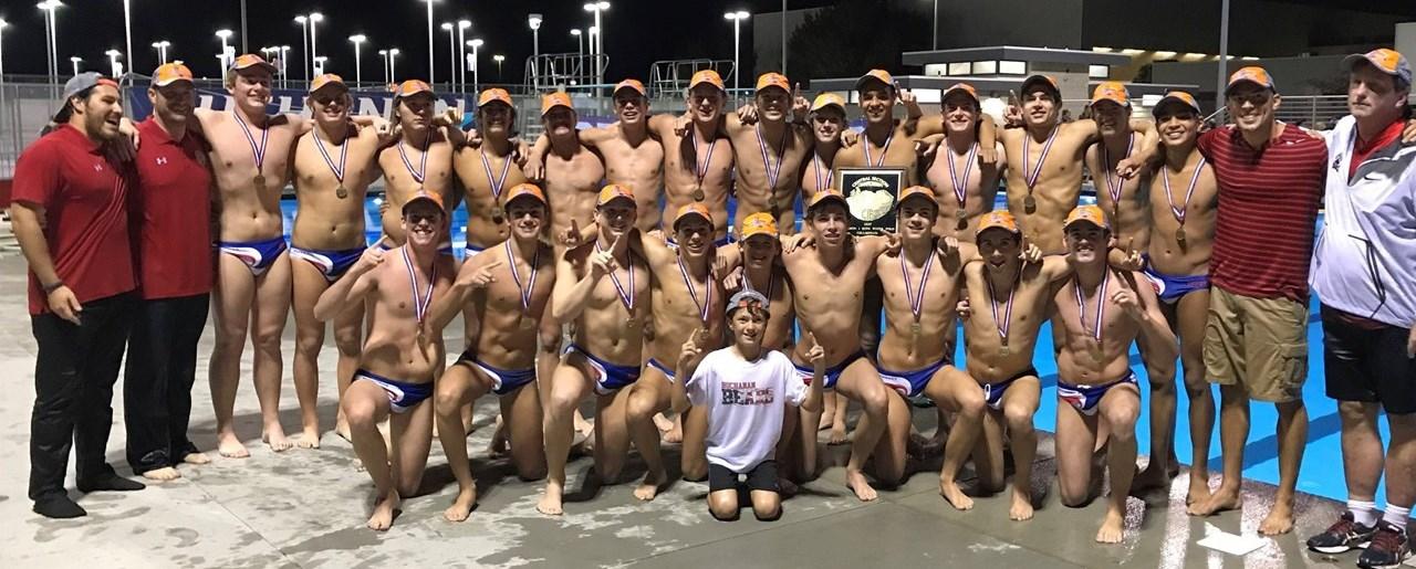 Buchanan boy waterpolo team