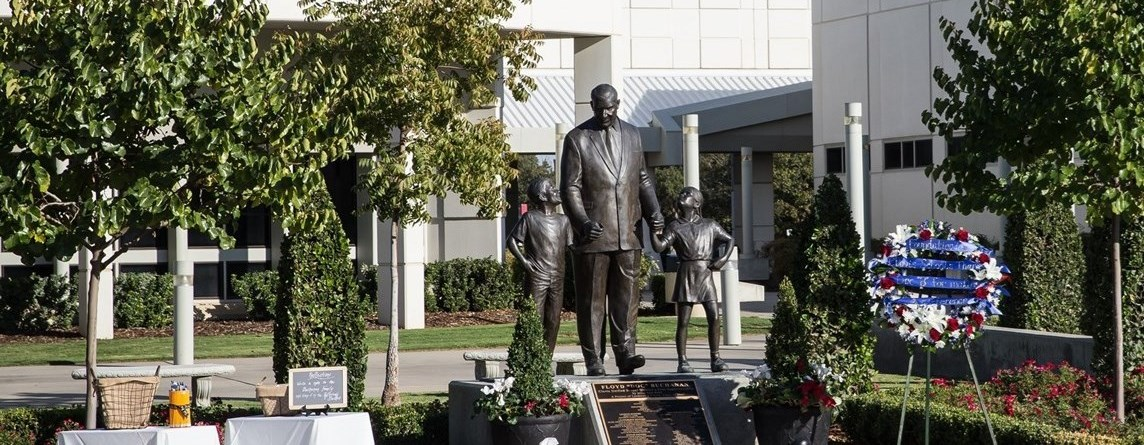 Doc Buchanan statue