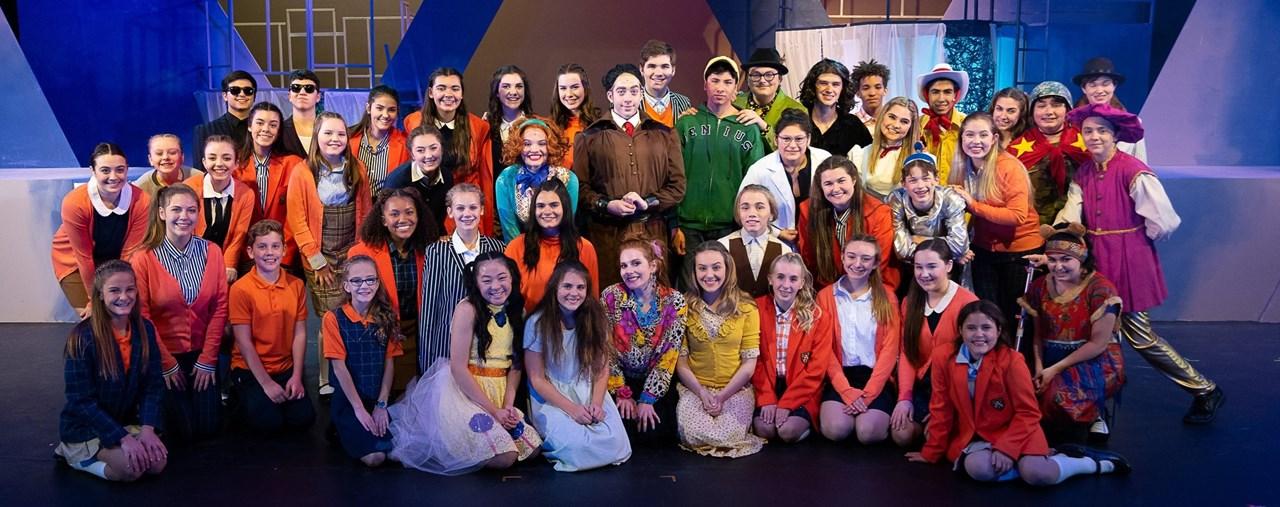 BHS Drama 2020 Matilda Cast