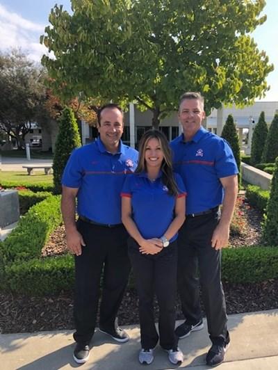 Athletic Staff: John Jay, Erika Graham, James Gambrell