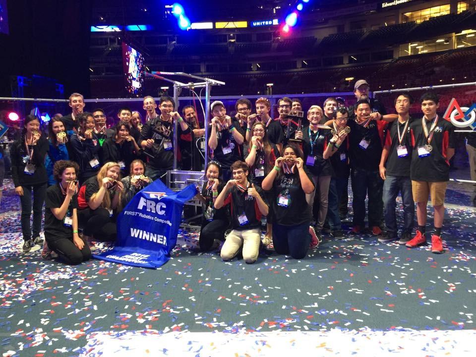 Robotics world champions